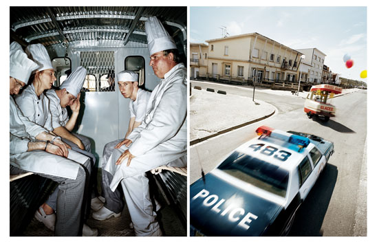 Chefs in Van - Police Car